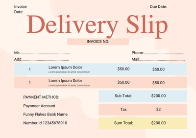 Delivery SlipTemplates4171