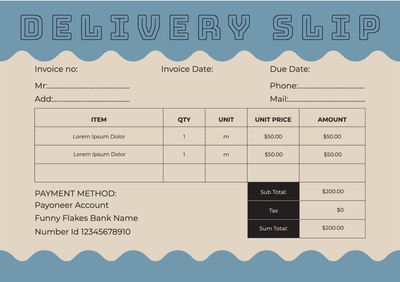Delivery SlipTemplates4159