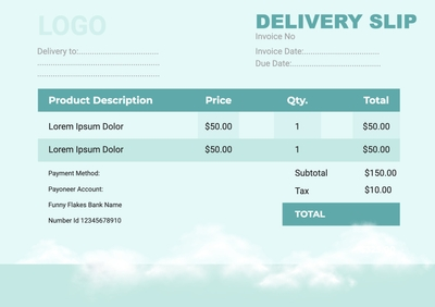 Delivery SlipTemplates4193