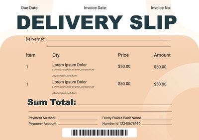 Delivery SlipTemplates4188