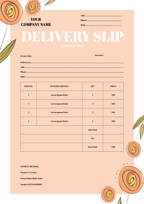Delivery SlipTemplates4162