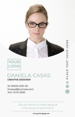 Business ID CardTemplates3887