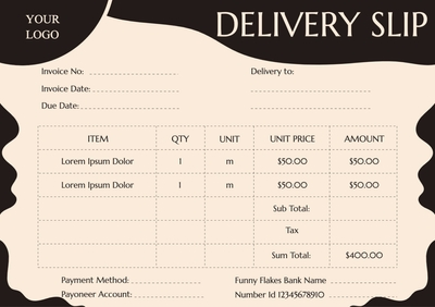 Delivery SlipTemplates4177