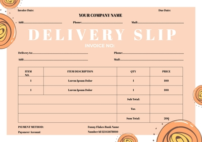 Delivery SlipTemplates4163