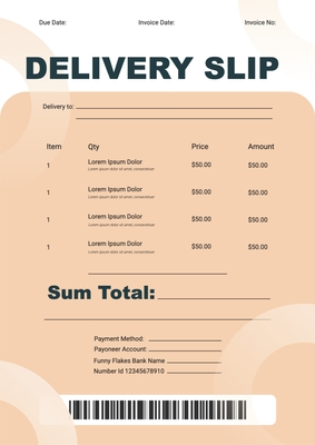Delivery SlipTemplates4187