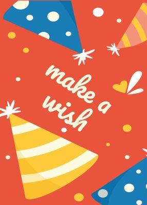 誕生日カードテンプレート1368