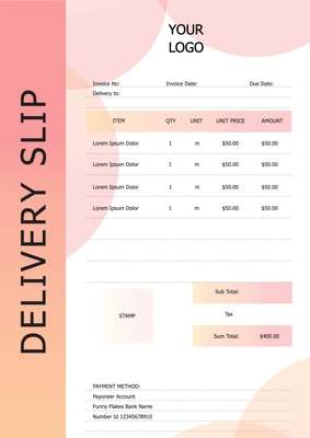 Delivery SlipTemplates4174