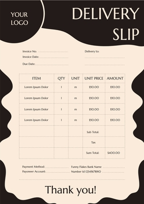 Delivery SlipTemplates4176